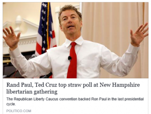 Rand Paul wins RLCNH Straw poll